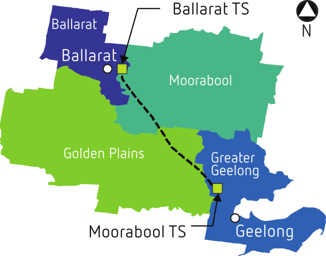 Moorabool to Ballarat line upgrade